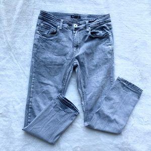 INC Mens Stockholm Gray Denim Slim Fit Skinny Jeans 30//30 BHFO 6494